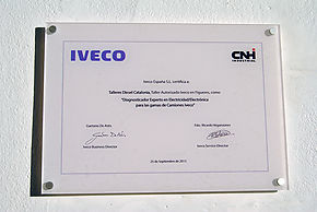 Expert Diagnostician electricity / electronics ranges IVECO trucks